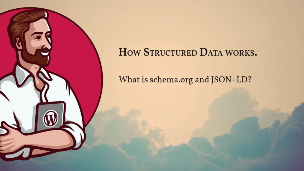 Coverimage for lesson 2: how structured data works and what JSON-LD and schema.org is