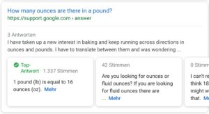 Q&A Rich Snippets on Googles Search Results