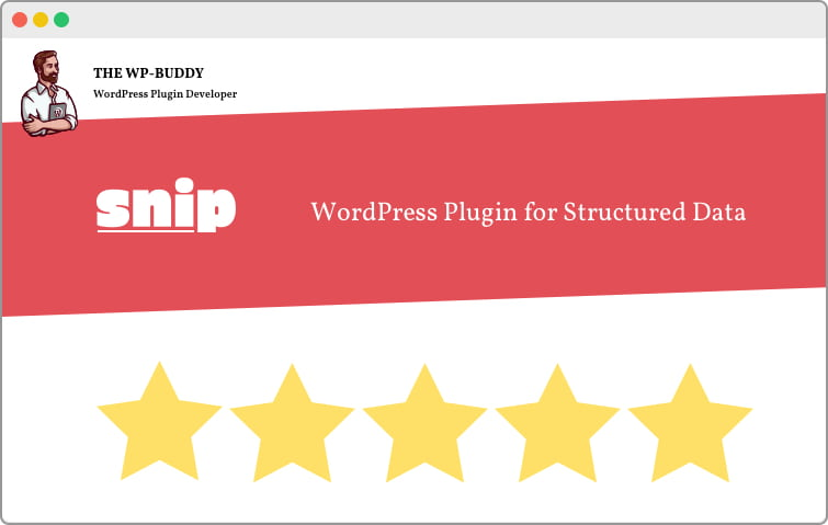 WordPress Plugin for Structured Data: an introduction to SNIP